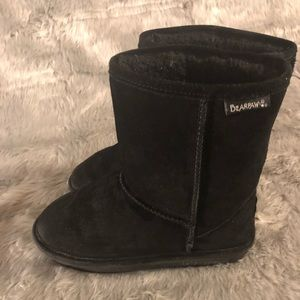EUC Suede shearling boots